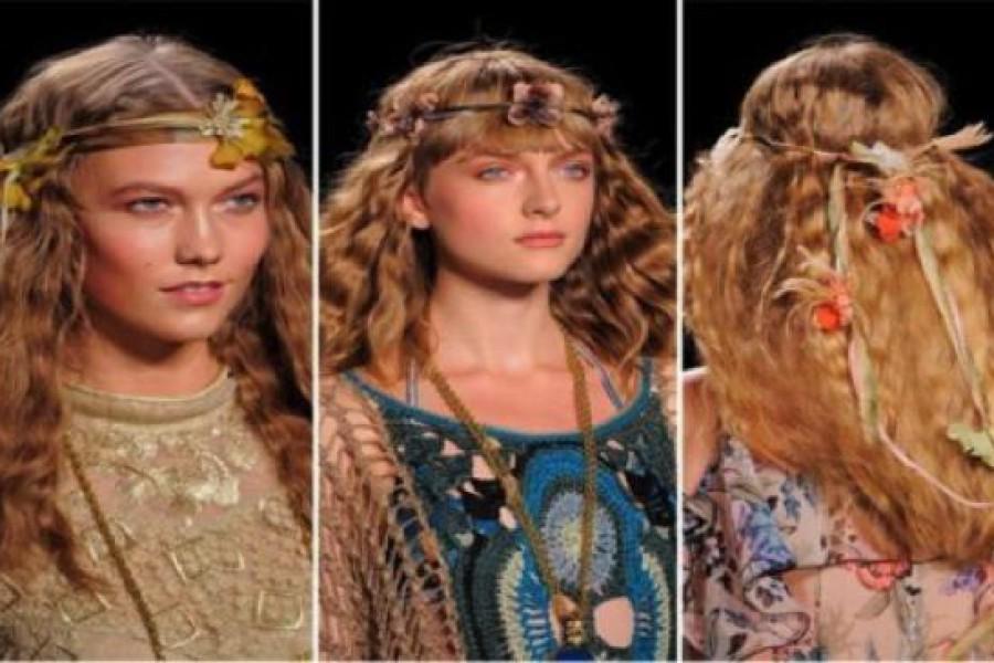 Capelli anni 70: acconciature hippie che tornano di moda.