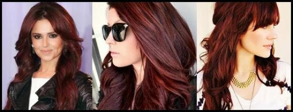 Non Natural Hair Colors Deep Redish Purple