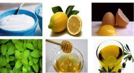 Maschera per gelatina di capelli un olio di limone