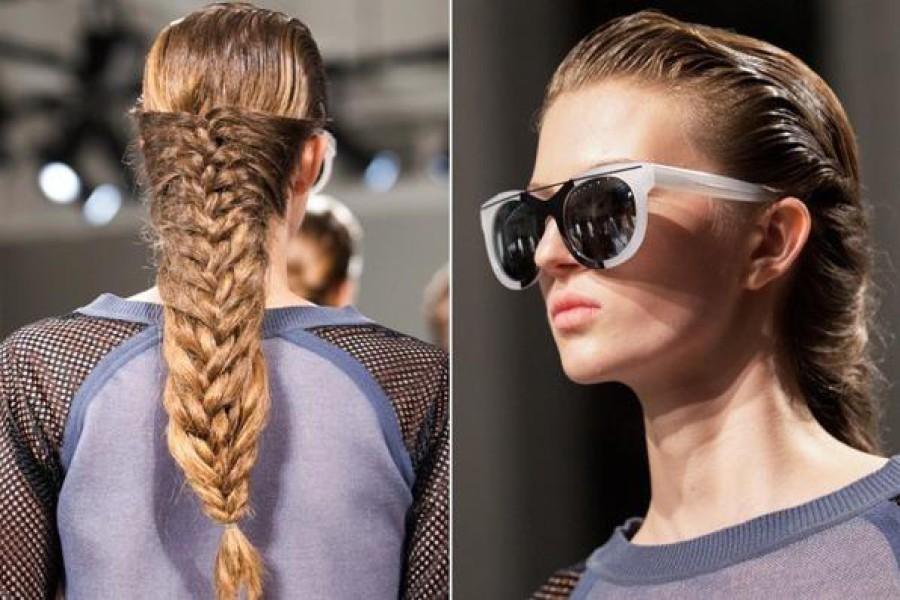 Acconciatura veloce per capelli lunghi: la Cage Braid