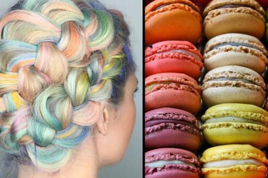 Macaron hair: un nuovo trend capelli per il 2016