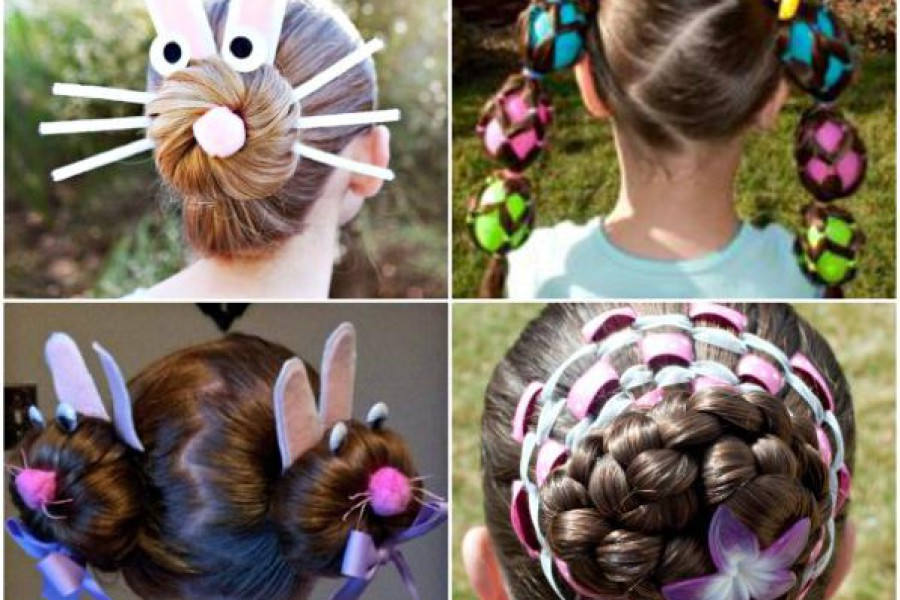 Capelli per Pasqua: acconciature e pettinature 2016