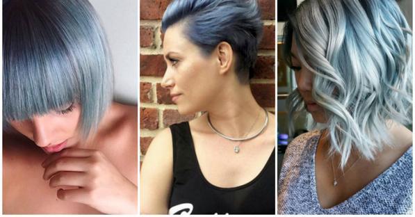 Capelli color jeans - la tendenza 2016 sono i Denim Hair 7