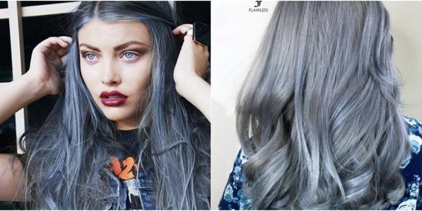 Capelli color jeans - la tendenza 2016 sono i Denim Hair 8