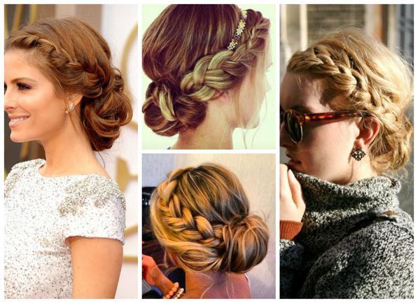 Corona di treccia per capelli - ecco il tutorial 1