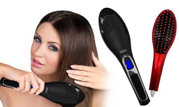 Spazzola lisciante per capelli - funziona? Ecco come si usa!