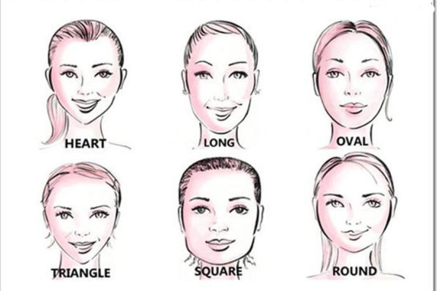 Taglio giusto per viso ovale, tondo, lungo o squadrato. Qual è il taglio di capelli per te?
