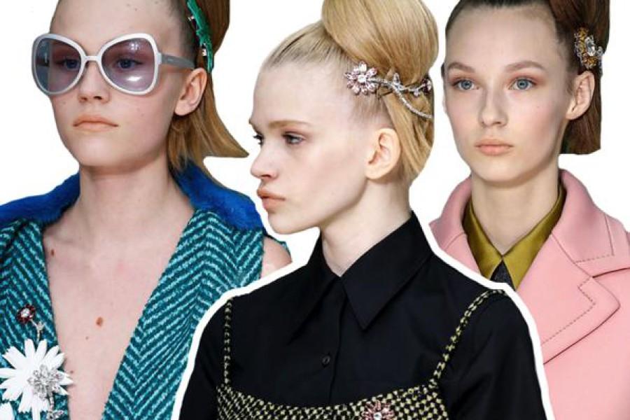 Fermagli per capelli: accessori alla moda 2015