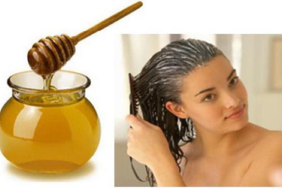 Maschera capelli al miele, yogurt e olio d'oliva.