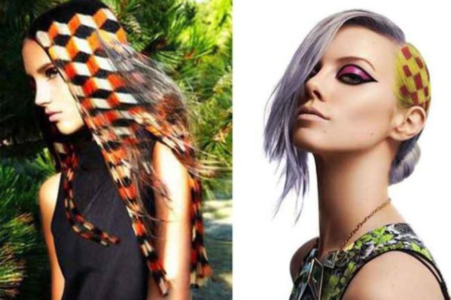 Stencil per capelli: cosa sono gli hair stencil e come si applicano?