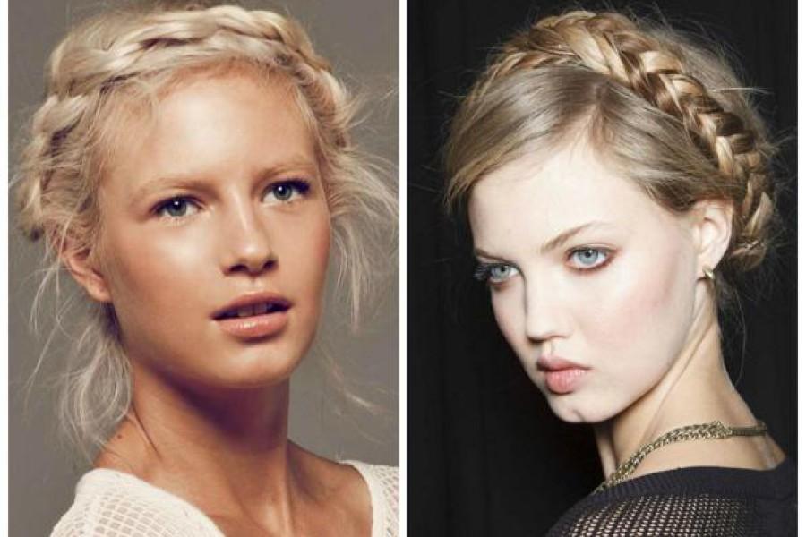 Corona di treccia per capelli: ecco il tutorial