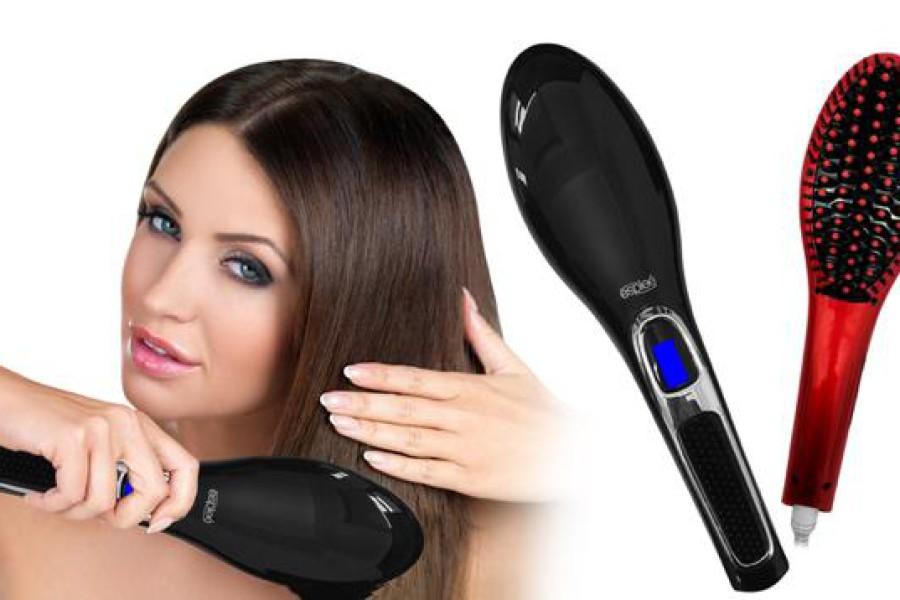Spazzola lisciante per capelli: funziona? Ecco come si usa!